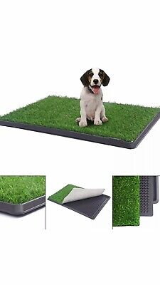 Puppy Potty Toilet Training Grass Patch Pee Pad Indoor Dog Trainer 25.8 X 7 N57