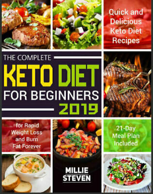 The Complete Keto Diet for Beginners 2019 – Quick and PDF/Eb00k Fast Delivery