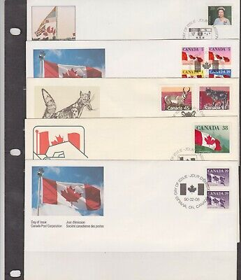 Canada FDC's 1990,Year Set ( 27 Covers - 6 Scans )