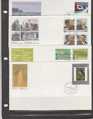 Canada FDC's 1991,Year Set ( 21 Covers - 7 Scans )