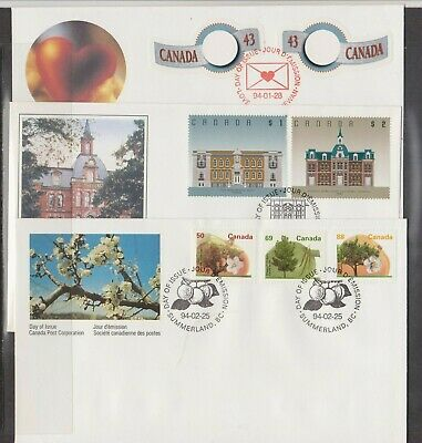 Canada FDC's 1994,Year Set ( 22 Covers - 8 Scans )