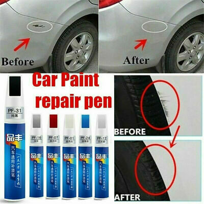6Color Auto Car Coat Paint Pen Touch Up Scratch Clear Repair Remover Remove Tool