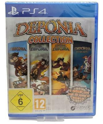Deponia Collection PS4 Brand New Sealed Video Game For Sony PlayStation 4