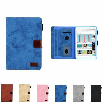 For Apple iPad Mini 1 2 3 4 5 Tablet Case Magnetic Wallet Leather Cover 7.9""