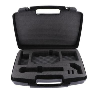 1pc Wireless Microphone MIC Carrying Case for PGX24 Hard Foam Liner Black