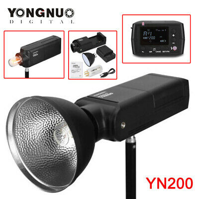 YONGNUO YN200 TTL HSS 200W With Battery Outdoor Flash for Canon Camera AU STOCK