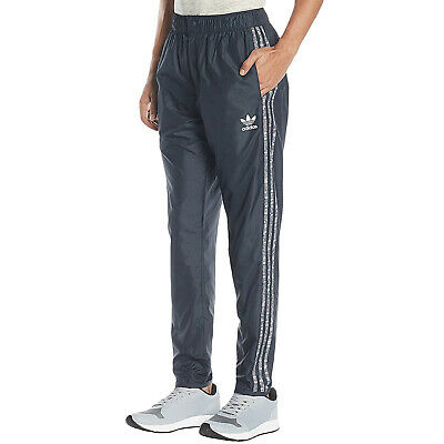 MEN'S XL ADIDAS TNT WIND PANTS with Liner, ASH GREY White
