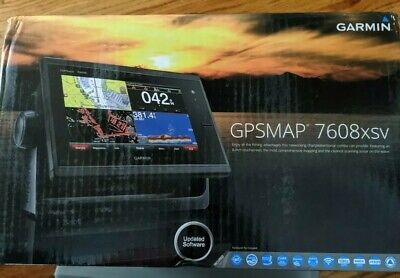 GPSMAP® 7608xsv SideVü, ClearVü and Traditional CHIRP Sonar with Mapping