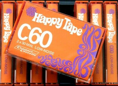 Happy Tape C60 Normal Position Type I Blank Audio Cassette - Germany 1977