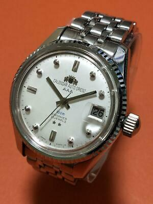 OH! ORIENT CALENDAR Auto AAA 100m SWIMMER 25JEWELS Men's Automatic Watch