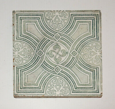 "6"" square antique Etruria tile by Josiah Wedgwood & Sons"