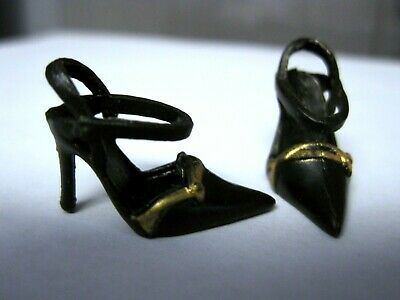 BARBIE DOLL CLOTHES//SHOES *MATTEL STRAPPY HIGH HEELS   *NEW*  #347