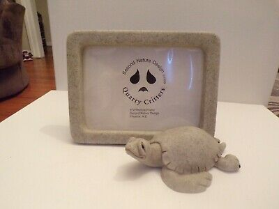 Quarry Critter Turtle Picture Frame