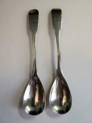 PAIR OF GEORGE III SOLID IRISH SILVER SALT, MUSTARD SPOON, G. Nangle Dublin 1810