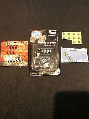 Vintage Hook and Eye Loops Sew On Closure Fasteners And Snaps Lot