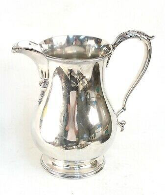 Top Quality English Georgian Style Silver Plated Water Pitcher