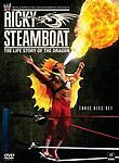 RICKY STEAMBOAT - THE LIFE STORY OF THE DRAGON - BRAND NEW & Sealed WWE 3DVD Set