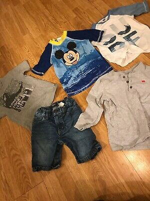 Toddler Boys Clothing Lot Size 5T Boys Clothes 5T Lot Carters Old Navy Disney