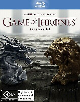 Game Of Thrones Seasons 1-7 AUST BLU-RAY BOX SET last 2!!!