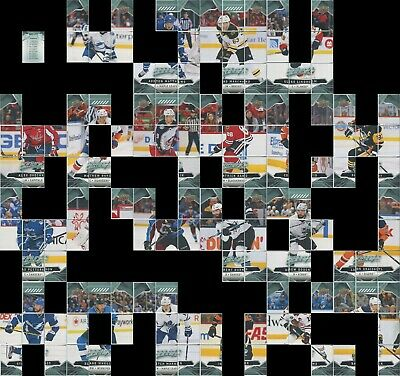 2019-20 MVP Hockey - Puzzle Back - Pick From List