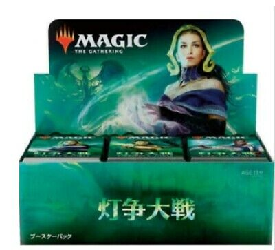 MTG War of the Spark Factory Sealed Booster Box Japanese NEW From Japan F/S