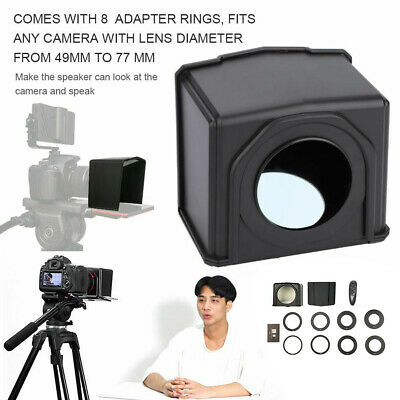 Forum Mobile Teleprompter Kit Interview Phone Use With Adapter Ring DSLR Camera