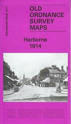 HARBORNE, Birmingham 1904, Old Ordnance Survey Map, Warwickshire Sheet 13.11