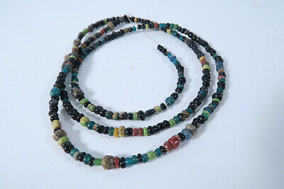 Alte kleine Glasperlen AY55 African Antique Old Trade Wind Nila Beads Afrozip
