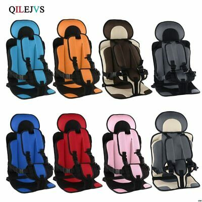 1-5T Travel Baby Safety Car Seat Cushion With Infant Safe Belt Fabric Mat