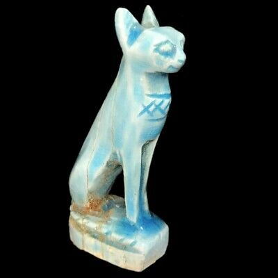 Egyptian Cat Statue, Late Period 664 - 332 Bc (2)