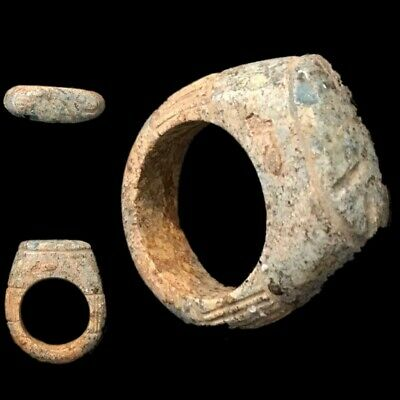 Beautiful Ancient Egyptian Fish Ring 300 Bc (2)