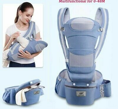 Baby Carrier 0-48M Infant Baby Hipseat Carrier Front Facing Ergonomic Kangaroo