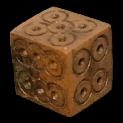 VERY RARE ANCIENT ROMAN PERIOD GAMING DICE 2nd-3rd Cent AD (1)