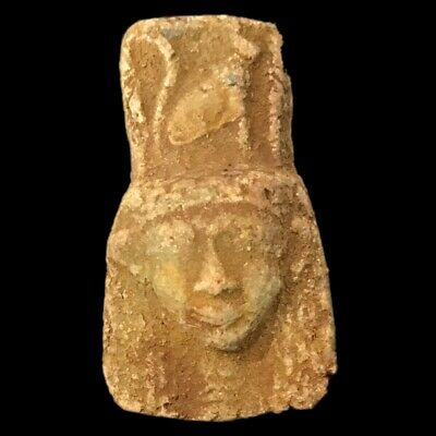 Beautiful Ancient Egyptian Amulet 300 Bc (21)
