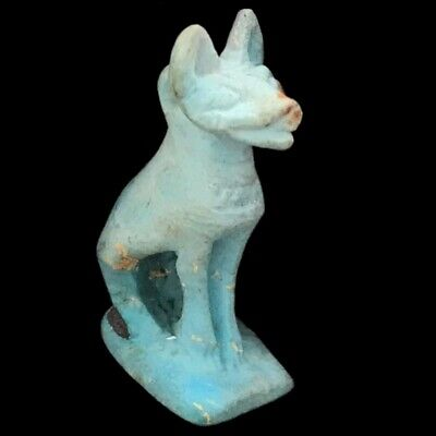 Beautiful Ancient Egyptian Cat Amulet 300 Bc (26)