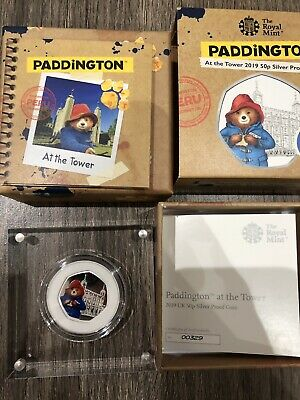 Paddington Bear 2019 Silver Proof Tower Of London Order Confirmed Low COA 299