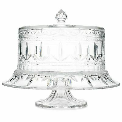 Marquis by Waterford Finley Multi Use Fan & Wedge Cut Crystal Cake Stand