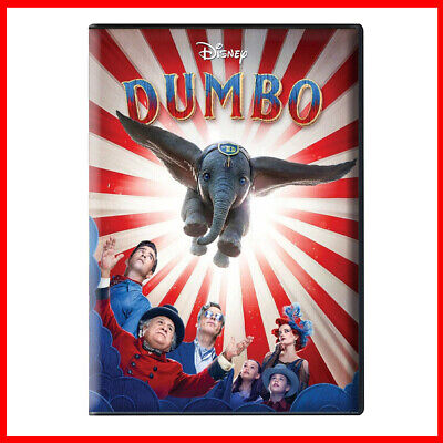 Dumbo 2019 DVD - Live Action Movie Tim Burton *** New Sealed & Ready To Post ***
