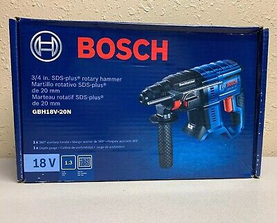 BOSCH GBH18V-20N - 18V 3/4 In. SDS-plus Rotary Hammer (Bare Tool) NEW