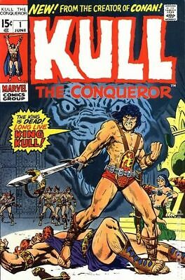 Kull the Conqueror (1st Series) #1 1971 GD/VG 3.0 Stock Image Low Grade