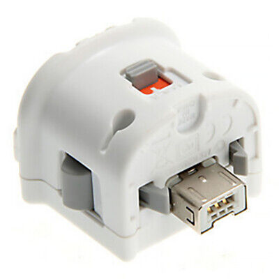 Original Nintendo Wii Motion Plus Adapter for Wii Remote Controller White UK