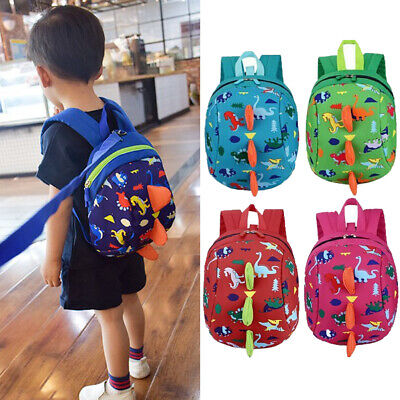 CA Infant Baby Anti-Lost Dinosaur Backpack Safety Walking Harness Leash For Kids