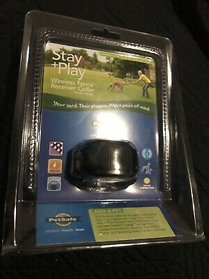 PetSafe Stay + Play wireless fence receiver dog collar Pif00-14288 pet New