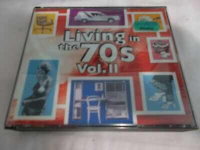 Living In The 70S Vol Ii - Oz 2 X V/A Cd Set - Like New-Daddy Cool-Hush-Jigsaw