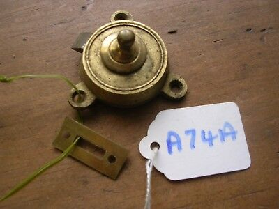 Antique Brass Table Catch And Keep (A74A)