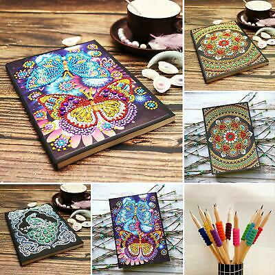 Christmas Diamond Painting A5 Office Diary Book Notebook Notepad Decor DIY Gift