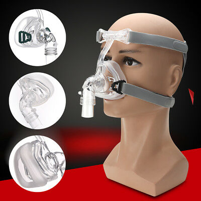 New Nasal Mask For CPAP Masks Interface Sleep & Snore Strap With Headgear NM2