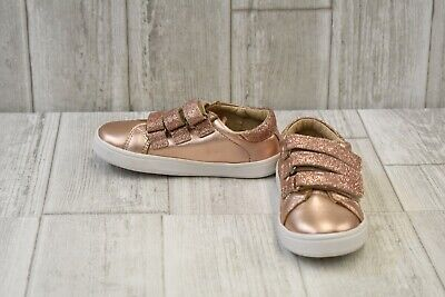 Old Soles Ballet Cross Rich Silver Baby and Toddler Girls Shoes NWB