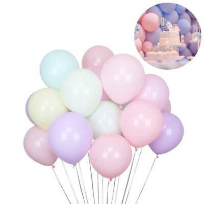100Pcs 5 inch Macaron Candy Colored Pastel Latex Balloon Wedding Party Decor