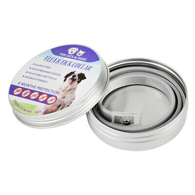 2pcs seresto0 Flea & Tick Collar for Large Dogs Over 18 lbs 8 Month Protection